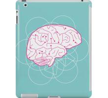 Human brain illustration. Cognitive science iPad Case/Skin