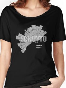 Toronto Map Women's Relaxed Fit T-Shirt