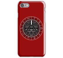Gravity Falls - Dark Bill CIpher Wheel iPhone Case/Skin