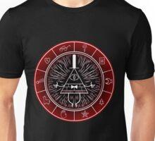 Gravity Falls - Dark Bill CIpher Wheel Unisex T-Shirt