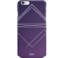 Geometric shape. Hipster triangles. Cosmos iPhone Case/Skin