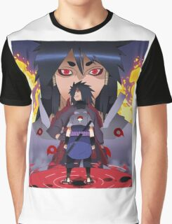 Indra, Madara and Sasuke Graphic T-Shirt