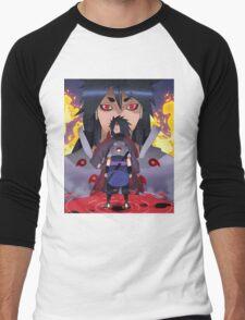 Indra, Madara and Sasuke Men's Baseball ¾ T-Shirt