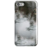 Red Maple Grey Water iPhone Case/Skin