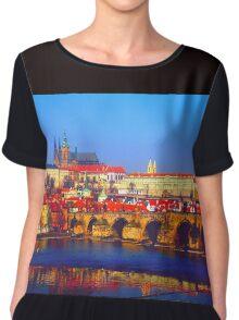 Prague Chiffon Top