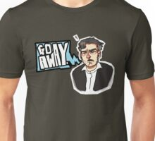 Go Away - CHARLIE BROOKER Unisex T-Shirt