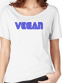 SEGA STYLE VEGAN LOGO Women's Relaxed Fit T-Shirt