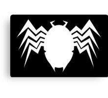 Neo Retro Venom Symbol - Version B Canvas Print