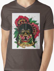 Darth Vader/Predator Mens V-Neck T-Shirt