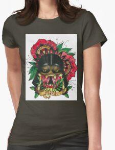 Darth Vader/Predator Womens Fitted T-Shirt