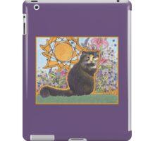 Little Girls THE Cat iPad Case/Skin