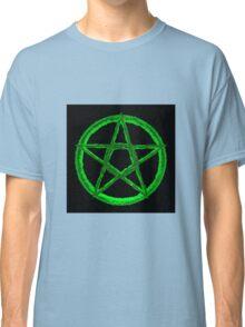 Green Pentagram Classic T-Shirt