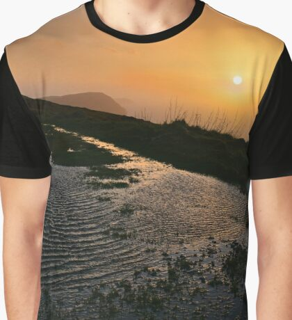 Ripples on a hillside - photograph Graphic T-Shirt