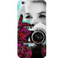 Marilyn And Nikon iPhone Case/Skin