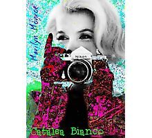 Marilyn And Nikon Photographic Print