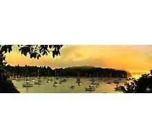 Mallets Bay Panorama Photographic Print
