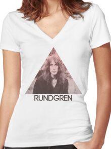 Rundgren Women's Fitted V-Neck T-Shirt