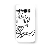 cartoon comic funny humorous cool snake Samsung Galaxy Case/Skin