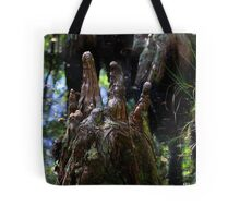Cypress knobs Tote Bag