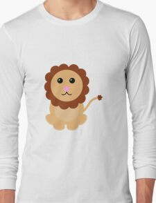 Cute Lion Long Sleeve T-Shirt