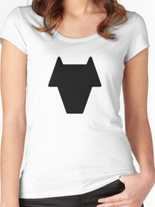 Legion of Super-Heroes; Timber Wolf Women's Fitted Scoop T-Shirt