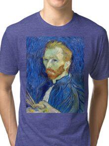 Vincent van Gogh Self-Portrait Tri-blend T-Shirt
