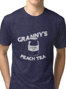 Granny's Peach Tea White Tri-blend T-Shirt