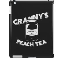 Granny's Peach Tea White iPad Case/Skin