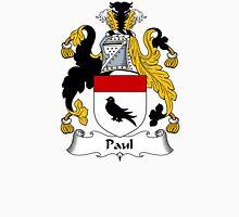 Paul Coat of Arms / Paul Family Crest Unisex T-Shirt