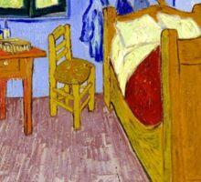 Vincent van Gogh Bedroom in Arles Sticker