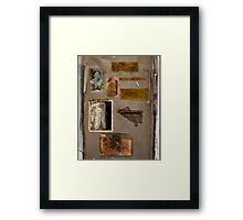 Altered, Annie Chapman Bio Page Framed Print
