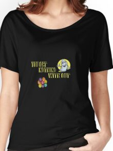 BE SAFE Women's Relaxed Fit T-Shirt