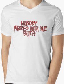 Life is strange Nobody messes with me Mens V-Neck T-Shirt