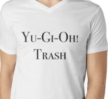 Yu-Gi-Oh! Trash Mens V-Neck T-Shirt