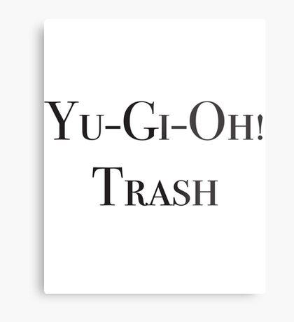 Yu-Gi-Oh! Trash Metal Print
