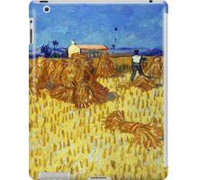 Vincent van Gogh Corn Harvest in Provence iPad Case/Skin