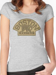 B's Camo Women's Fitted Scoop T-Shirt