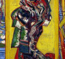 Vincent van Gogh Courtesan Sticker