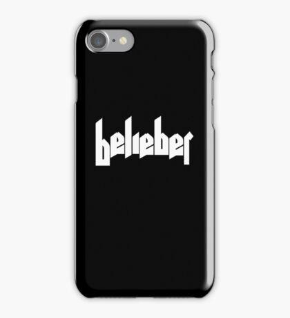 BELIEBER stickers iPhone Case/Skin