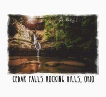 Cedar Falls Hocking Hills, Ohio Baby Tee