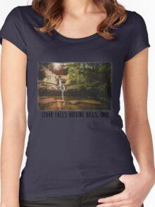 Cedar Falls Hocking Hills, Ohio Women's Fitted Scoop T-Shirt
