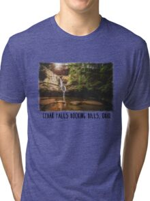 Cedar Falls Hocking Hills, Ohio Tri-blend T-Shirt