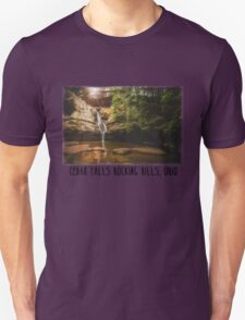 Cedar Falls Hocking Hills, Ohio Unisex T-Shirt