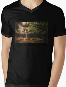 Cedar Falls Hocking Hills, Ohio Mens V-Neck T-Shirt
