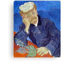 Vincent van Gogh Dr. Paul Gachet Canvas Print
