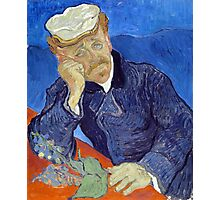 Vincent van Gogh Dr. Paul Gachet Photographic Print