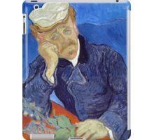 Vincent van Gogh Dr. Paul Gachet iPad Case/Skin