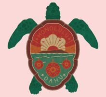 Honolulu Turtle Kids Tee