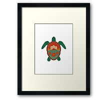 Honolulu Turtle Framed Print