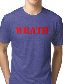 WRATH Tri-blend T-Shirt